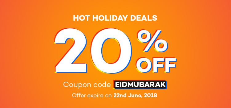 Don't Forget to Check Holiday Support Schedule & Enjoy 20% Flat Discount