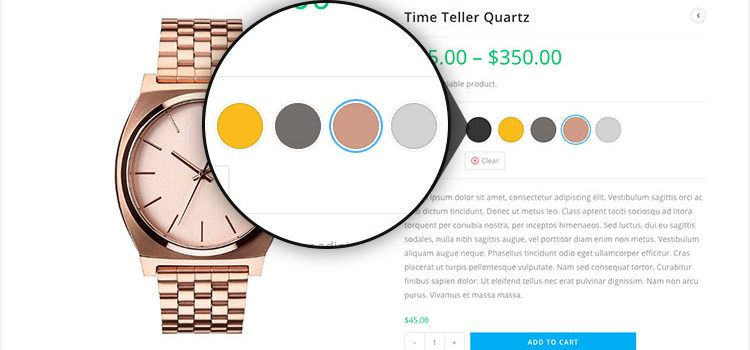 How To Enable Color Swatches for WooCommerce Variable Product Attributes in Flatsome Theme
