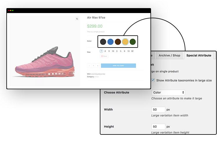 WooCommerce Variation Swatches Pro-Woo多颜色管理色板插件[更至v1.1.17]插图34