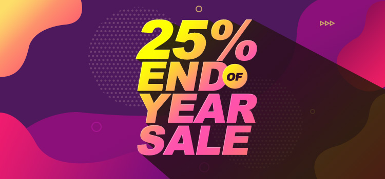 Have a Glowing New Year | Enjoy 25% Massive Discount